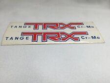NOS Tange TRX Cr-Mo Forks Decal Sticker Set Vintage Old School BMX