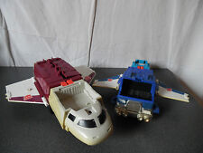 Rare Vintage 1990 lot Vaisseau / navette + Camion Transformers Takara Hasbro
