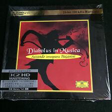 Salvatore Accardo Diabolus In Musica K2HD CD NEW Japan