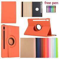 For Samsung Tab S6 10.5 T860 T865 360 Rotating PU Leather Smart Case Cover Stand