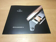 Booklet Folleto CLERC Odyssey - English - Watches Relojes Montres