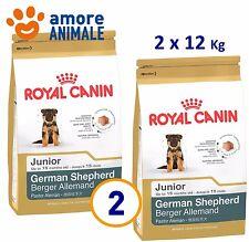 2 SACCHI - Royal Canin German Shepherd Junior 12 kg - Pastore Tedesco crocchette