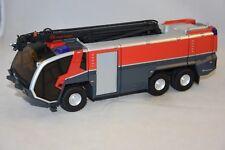 Wiking WIKING7610 - PANTHER ROSENBAUEUR FLF 6X6 AVEC LANCHE INCEND Pompiers 1/43