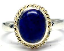 925 Sterling Silver Lapis Lazuli Gemstone Ring 3.34 gms Fine Jewelry Rings