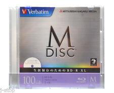 1000 Years Data Archival Grade Verbatim M-DISC 100GB BDXL 4x Printable Bluray