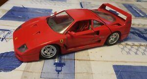 Burago Ferrari F40 1/18