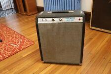 Vintage década de 1970 Fender Music Master Amplificador De Bajo