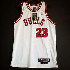 100% Authentic Michael Jordan Rookie Bulls Nike Home Jersey Size 44 NWT
