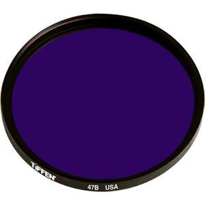 New Tiffen Series 9 Deep Blue #47B Color Balancing Filter MFR # S947B