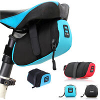 Cycling Saddle Bag Back Seat Pouch MTB Bike Case Bicycle Tail Rear Pouch Holder