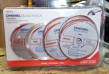 NEW Dremel SM700 Saw Max Cutting Kit 7 Piece Circular Saw Blades FREE SHIPPING