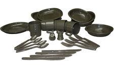 Mil-Tec Teller- und Besteck-Set 26-teilig Oliv Essgeschirr Campinggeschirr