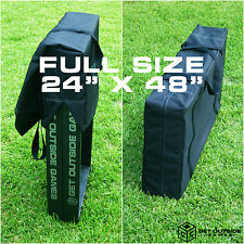 """Cornhole Board Carrying Case & Storage Bag - Fits Two Full Size 24"""" x 48"""" Boards"""