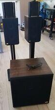 Miller & Kreisel Satellite I Speakers w/ Stands (Sub Available) MK M&K Sound