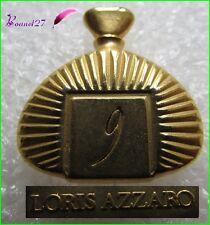 Pin's Flacon de parfum dorée 9 LORIS AZZARO #300