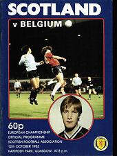 EM-Qualifikation 12.10.1983 Schottland - Belgien