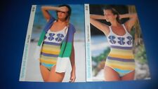 Marshall Cavendish Spring & Summer Women's Wrap & Swimsuit Knitting Pattern 62