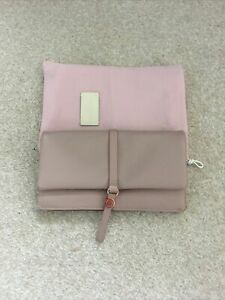 Radley Leather Pink And Burgundy Purse