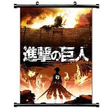 Anime Wall Scroll Poster Attack on Titan (Shingeki no Kyojin) 40*60cm
