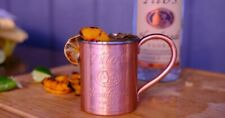 Tito's Vodka Moscow Mule Solid Copper Mug 100% Authentic 3/4 Lb Each In Weight.