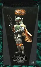 "star wars sideshow 12"" 1/6 scale scum & villainy boba fett bounty hunter -empire"