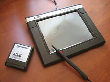 NEW NOS Vintage Atari Touch Tablet w original accessories and Artist software ██