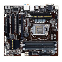 Gigabyte GA-B85M-D3H Socket LGA 1150 For Intel MicroATX Motherboard DDR3 32GB