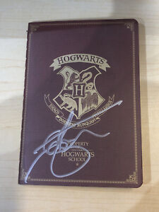 Harry Potter - Small Pocketbook Hand Signed By Ian Whyte In Store With COA
