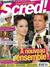 SCRED! n°3 oct.nov.2017 Brad Pitt & Angelina Jolie/ Kate Middleton/ Mariah Carey