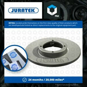 2x Brake Discs Pair Solid fits CHEVROLET MATIZ M2 0.8 Front 05 to 13 236mm Set