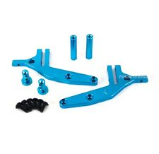 HSP 166044 Aluminum Wing Stay (Blue) Wing Mount for Redcat Shockwave Tornado