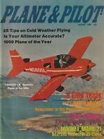 Plane & Pilot - Jan 1969 (Amercan Yankee, Fleet 80 Canuck, Mooney Mk. 21)
