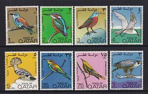 Qatar - 1972, Birds set - MNH - SG 391/8