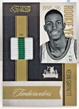 Kevin Garnett 2010-11 Timeless Treasures Rookie Year PRIME 2 color GU Patch /25