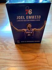 Joel Embiid #21 Philadelphia 76ers Sixers Bobblehead Delaware Blue Jersey Sealed