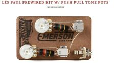 Gibson LP Pre-Wired Assembly w/Push Pull Tone Pots - Emerson USA