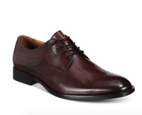 Alfani Men's Leather Darwin Lace-Up Oxfords Shoes Size 12 New $90 MCYB1-2