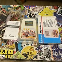 1980s Radioshack Moto Cross Retro Lcd Game! Boxed With Manual! Very Rare Game