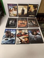Lot Of 9 Russell Crowe Movies Gladiator Beautiful Mind 3:10 To Yuma Noah