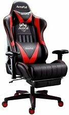 Autofull Gaming Chair Racing Style Ergonomic High Back Computer Chair With Heigh