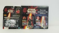 Star Wars Episode 1 Battle Bags and 2 Pack Collector Figures Darth Anakin