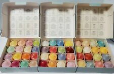 3 Boxes Partylite Votive Candle Samplers - 16 Candles Per Box Spring Summer Fall