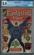 CGC 5.5 FANTASTIC FOUR #46 1ST FULL APPEARANCE & COVER OF BLACK BOLT OW/W PAGES