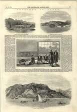 1855 Militarily Station Nagasaki Japanese Villages Nazuma Sima
