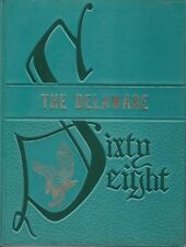 Delaware Valley High School Callicoon New York 1968 Yearbook Annual Grades K-12