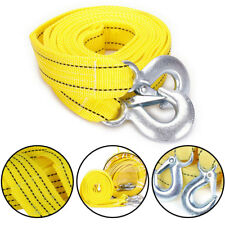 5 TONNE 4Metre Tow Towing Pull Rope Nylon Strap Heavy Duty Road Recovery Car Van