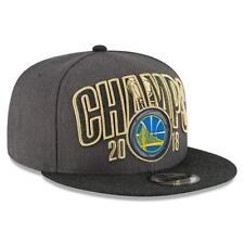 online retailer 3c700 59d06 GOLDEN STATE WARRIORS NEW ERA 2018 NBA FINALS CHAMPIONS LOCKER ROOM  SNAPBACK HAT