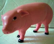 Plastic Tinker Toys Part Pink Pig Replacement Piece from Wood Jumbo Farm Set '95
