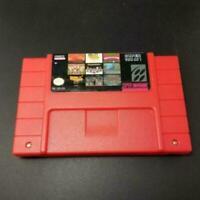 100 In 1 Super Game For Super Nintendo SAV Cartridge 16-Bit Multicart NTSC SNES