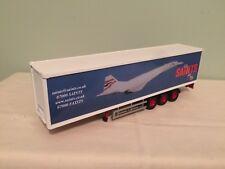 Corgi Modern Truck Box Trailer Saints Transport Concorde
